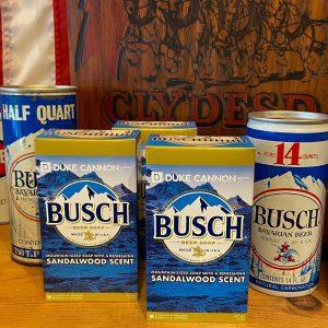 Duke Cannon Busch Beer Soap