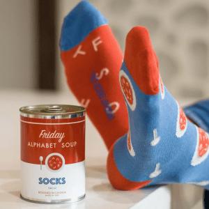 Friday Sock Co. Alphabet Soup Socks