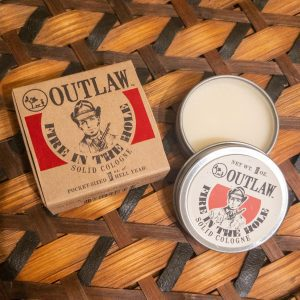 Outlaw Soaps Fire In The Hole Solid Cologne