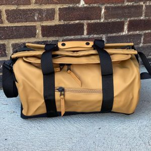 Rains Khaki Small Duffel Bag