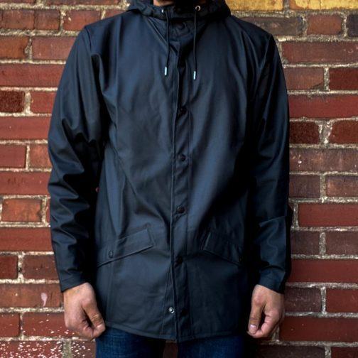 Rains Black Jacket 1201