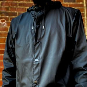 Rains Black Jacket 1201