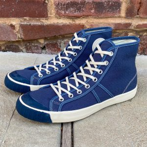 Colchester Rubber Co. National Treasure Navy High Top Sneakers