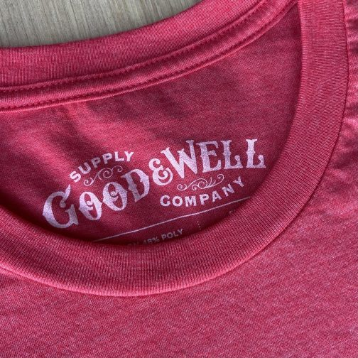 Protect Your Parks Tee By Good & Well Supply. Crewneck View.