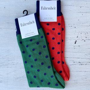 Fahrenheit NYC Polka Dot Socks