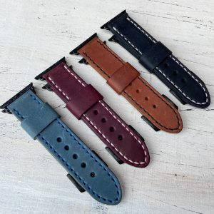 44 MM Stitched Apple Watch Band Assorted