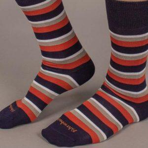 Fahrenheit NYC Striped Socks