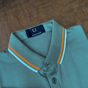 Fred Perry Made in Japan Seaspray Luminous Polo Shirt