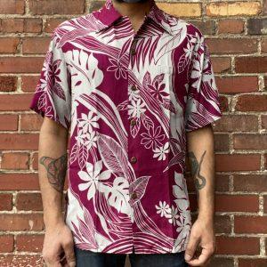 An Original Kalakaua Ele Kea Aloha Shirt