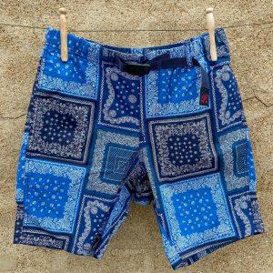 Gramicci Weather NN Shorts Navy Bandana