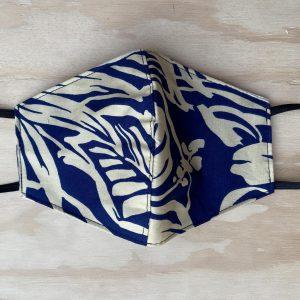 Two Palms Kona Navy Face Mask