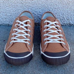 Colchester Rubber Co. National Treasure Deadgrass Low Top Sneakers