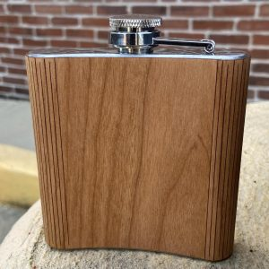 Autumn Woods Collective STL City Map Flask