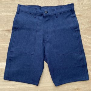 Stan Ray Indigo Denim Fatigue Shorts 5225