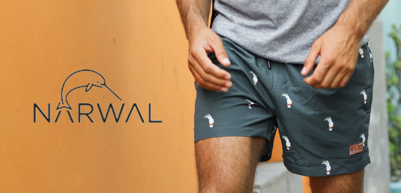 Narwal Swim Trunks at Crimson Serpents Outpost
