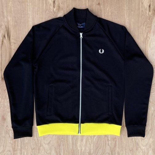Fred Perry Luminous Track Jacket J1831 Black