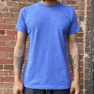 Left Field NYC Blue Raspberry Pocket Tee