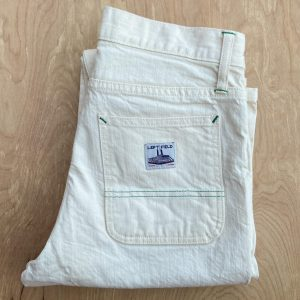 Left Field NYC Cone White Oak Natural Work Uniform Jeans