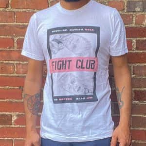 Paper 8 Fight Club Poster Tee