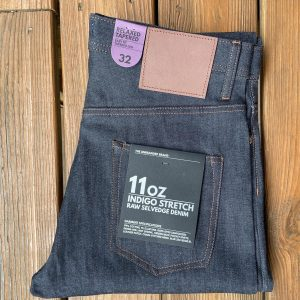 Unbranded 11oz. UB622 Relaxed Tapered Stretch Selvedge Denim