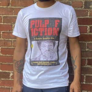 Paper 8 Pulp Fiction Poster Tee