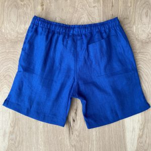 Alex Crane Bo King Linen Shorts