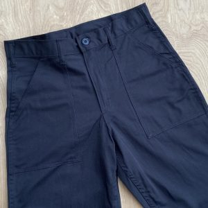 Stan Ray Black Slim Fatigue Pants