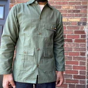 Stan Ray OD Sateen Military Shirt Jacket 301J