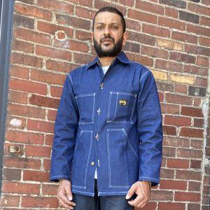 Stan Ray Indigo Denim Shop Jacket