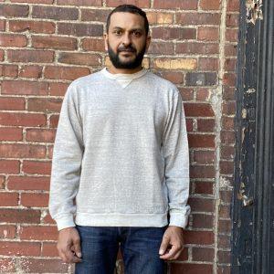 DubbleWorks Crewneck Sweatshirt Heather Grey