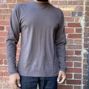 DubbleWorks Long Sleeve Tee Ash Black